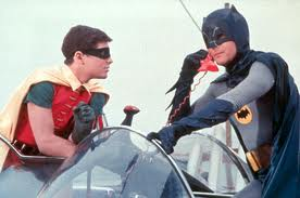 The Batman and Robin...old school style. (3/6)