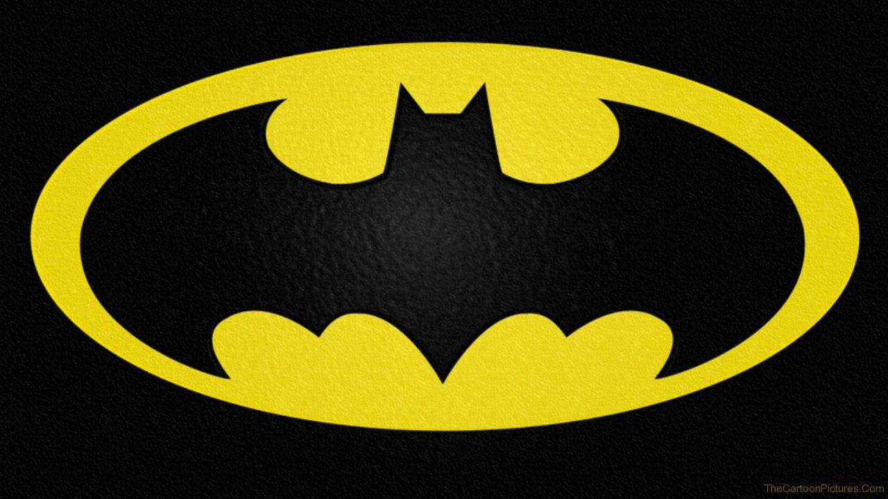 The batman and robin old school style chronicles of Batman symbol