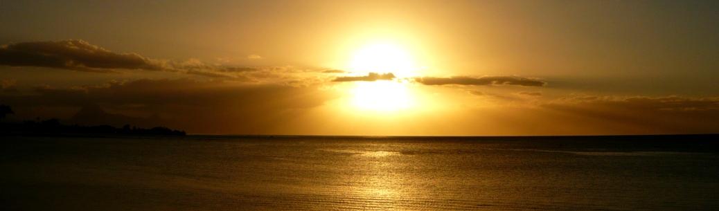Sunset Tahiti