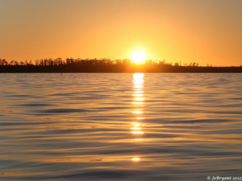 Tauranga Harbour sunrise