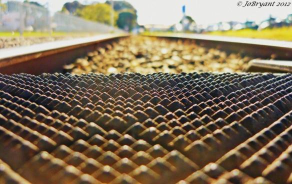 Railway crossing - Macro