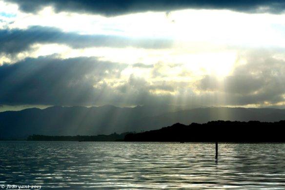 Tauranga Harbor sunset
