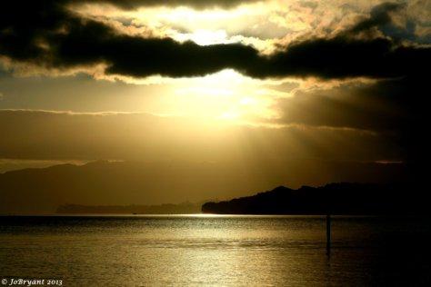 Tauranga Harbour sunset