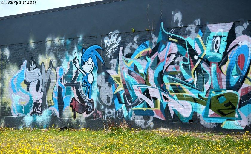 Waihi graffitti