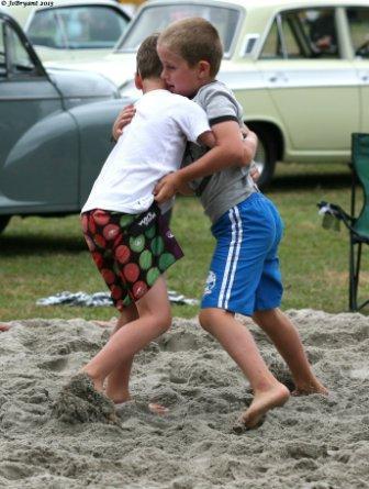 Sand Wrestling