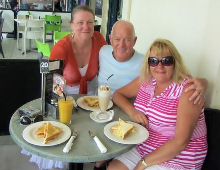 Lunch at Mount Maunganui.