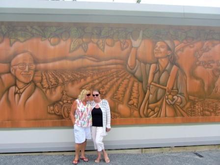 Kiwifruit Mural