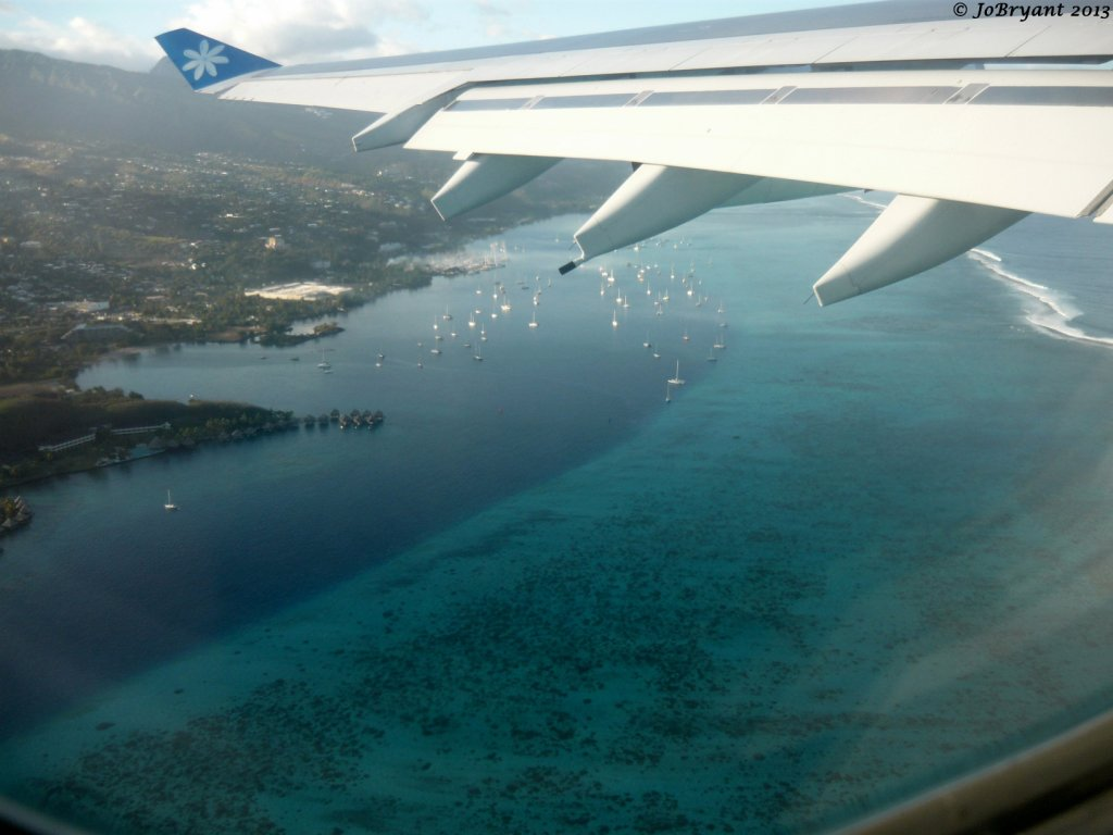 Papeete from the air