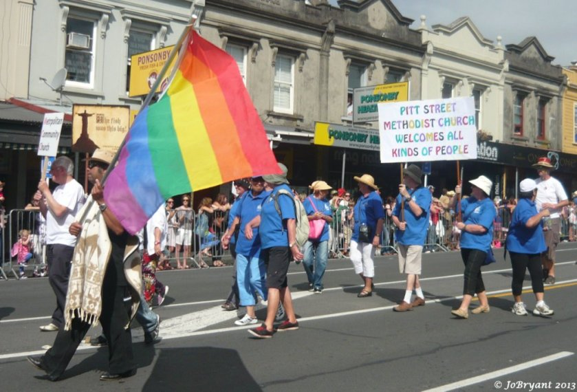 Auckland's Gay Pride Parade 2013