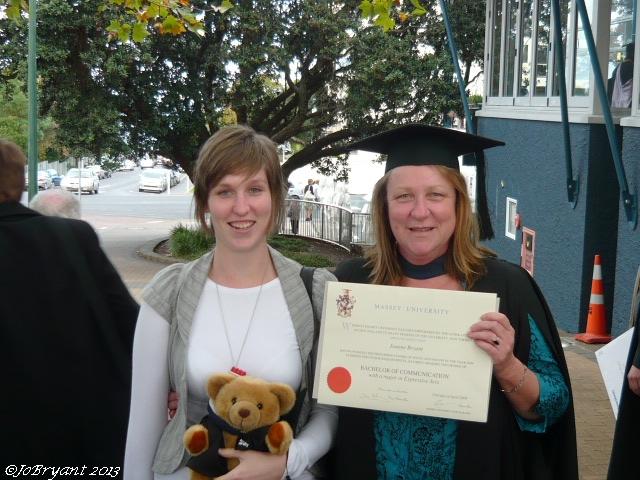 Finally...a university graduate !