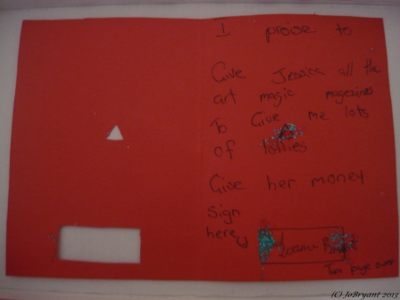 Homemade Mothers' Day Card (1)
