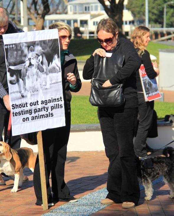 Tauranga Animal Testing Protest 30.7.2013 (4)