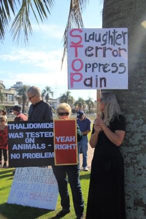 Tauranga Animal Testing Protest 30.7.2013 (7)