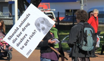 Tauranga Animal Testing Protest 30.7.2013 (8)