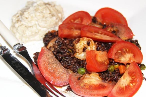 Vegan Nasi Goreng with Cashew Sauce