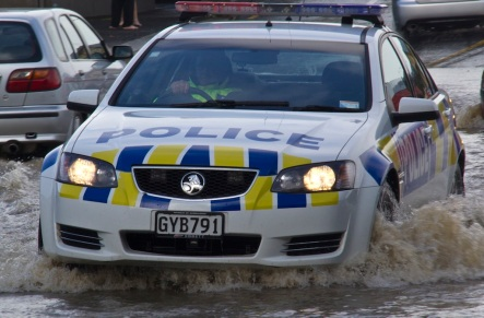 Local cops were kept busy