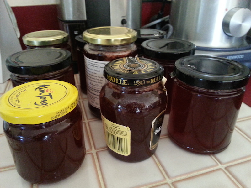 Guava Jelly ready for distribution amongst friends.