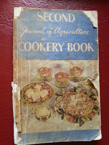Journal of Agriculture Cookbook.